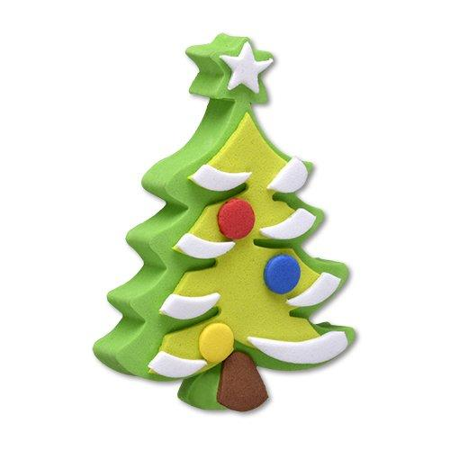 Tenna Tops Winter Christmas Tree Antenna Topper / Desktop Spring Stand Bobble