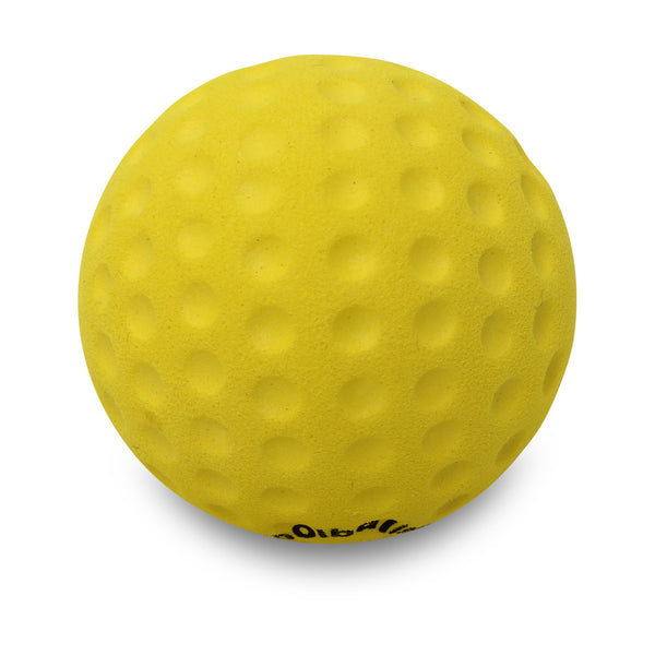 Coolballs Cool Golf Ball Yellow Car Antenna Ball / Desktop Bobble Buddy