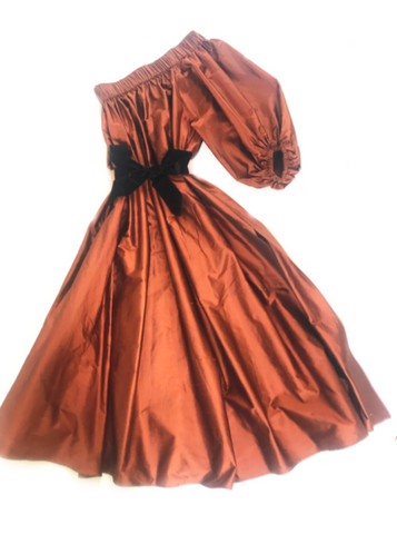 Aster Dress Copper