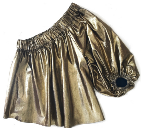 Mariposa Blouse Gold