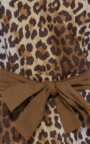 Giro Giro Tondo Dress - Leopard
