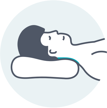 back sleeper icon
