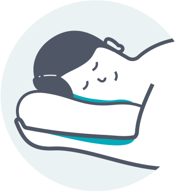 stomach sleeper icon