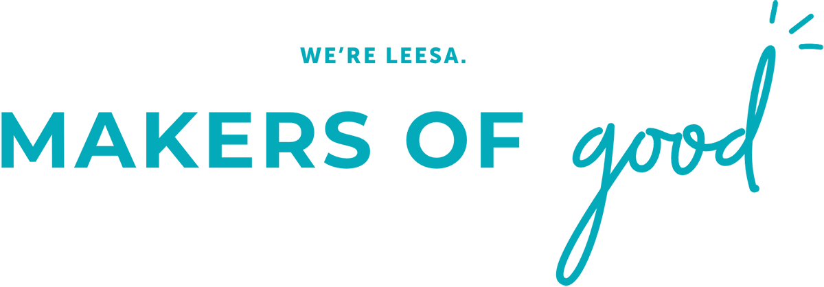 leesa logo makers of good