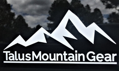 Talus Mountain Gear Decal