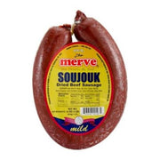 Hot Dried Beef Soujouk-1lb ( HALAL )