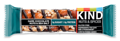 Dark Chocolate Nuts & Sea Salt Bar - 1.4oz