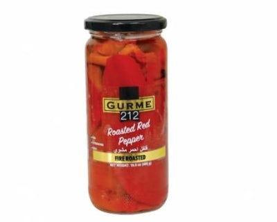 Fire Roasted Red Peppers - 1lb