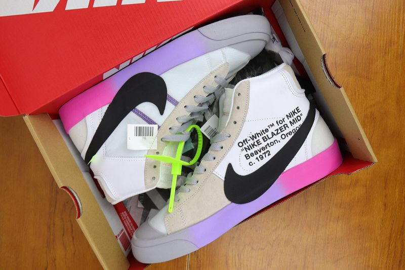 "OFF WHITE x Nike Blazer Mid ""Queen"": Official Release"