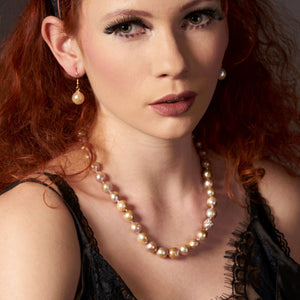 Baroque pearl jewellery set