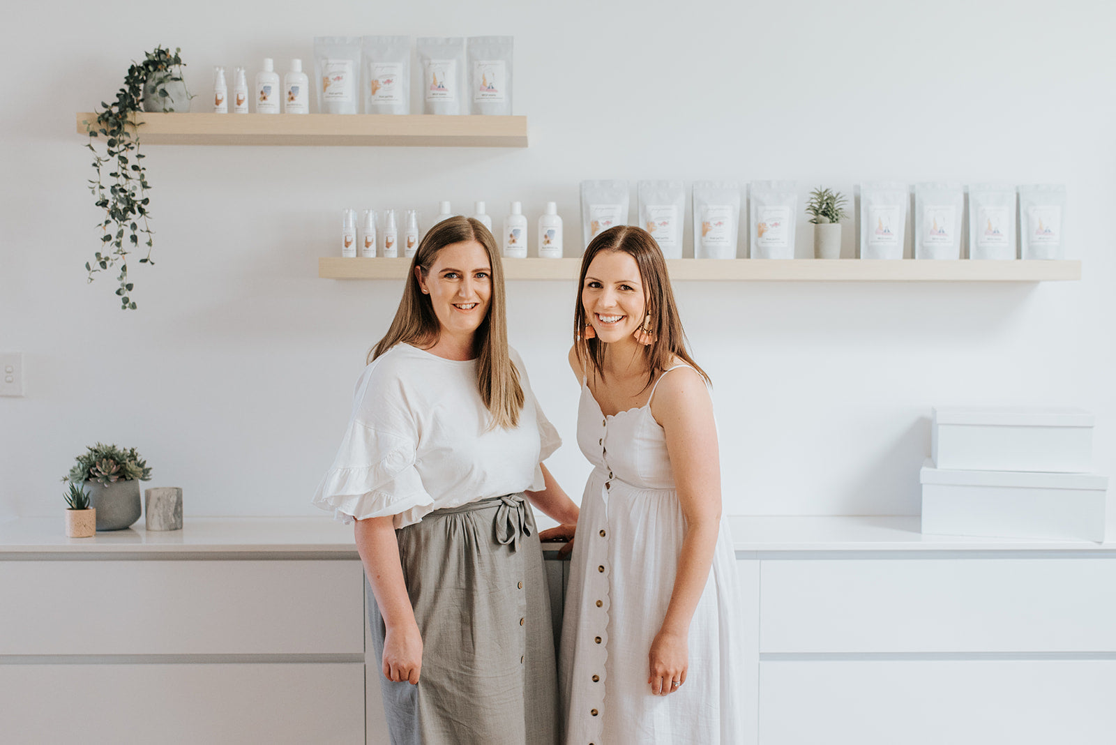 Holly and Marie - Co-founders of facing motherhood