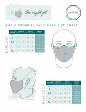 Load image into Gallery viewer, EarLoop Antimicrobial Mask Set