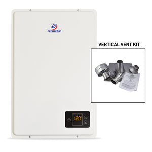Eccotemp 20HI Indoor 6.0 GPM Natural Gas Tankless Water Heater Vertical Bundle