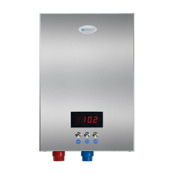 Marey ECO180 -18 kW, 4.4 GPM ETL Certified 220-Volt Self-Modulating Multiple Points Tankless Electric Water Heater