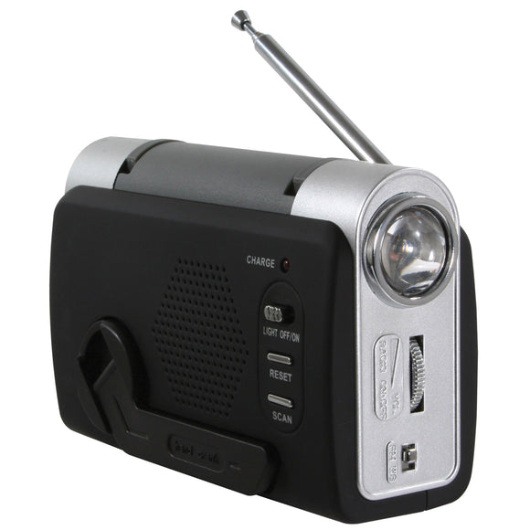 Sportsman Series Hand Crank Emergency Radio