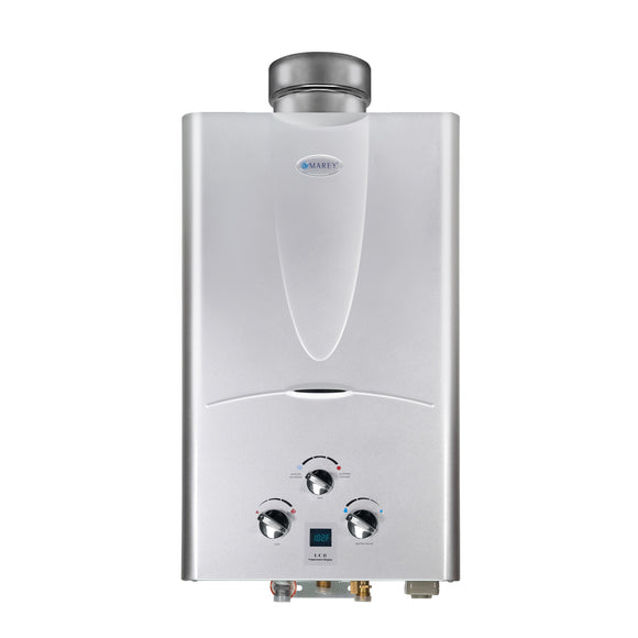 Marey Refurbished REFGA10NGDP 3.1 GPM 10L Natural Gas Digital Panel Tankless Water Heater