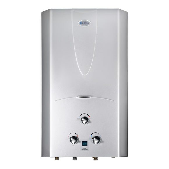 Marey Refurbished REFGA16LPDP 4.3 GPM 16L Liquid Propane Gas Digital Panel Tankless Water Heater