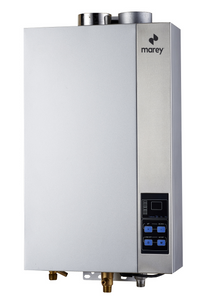 Marey GA14CSANG,  High Efficiency,  CSA Certified, Residential Multiple Points of Use Natural Gas Tankless Water Heater