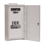 Champion 8.5KW  Generator w/ATS 50 NEMA 3R (Outdoor) Switch