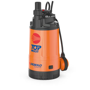 Submersible Multi-Impeller Pump TOP MULTI 2 V.115/60HZ 10m Cable 0.75HP