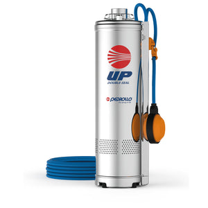 Multi Stage Submersible Pedrollo Pump UPm4/2-GE V.230/60HZ. 1HP With Float Switch