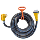 Sportsman Series 30 Ft. 125/250 Volt 50 Amp Marine Type Pigtail Extension Cord