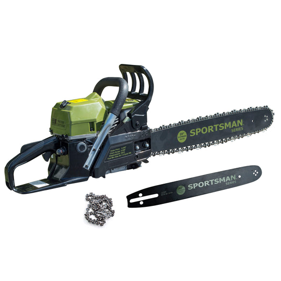 Sportsman Series 20 in. and 14 in. 52 cc Gas 2-Stroke Rear Handle Chainsaw Combo Kit