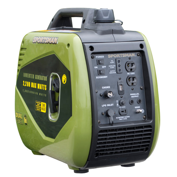 Sportsman 2200 Surge Watts Dual Fuel Portable Inverter Generator