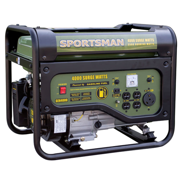 Sportsman Gasoline 4000 Watt Portable Generator