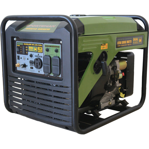 Sportsman 8,750-Watt Surge Watt Dual Fuel Digital Inverter Portable Generator