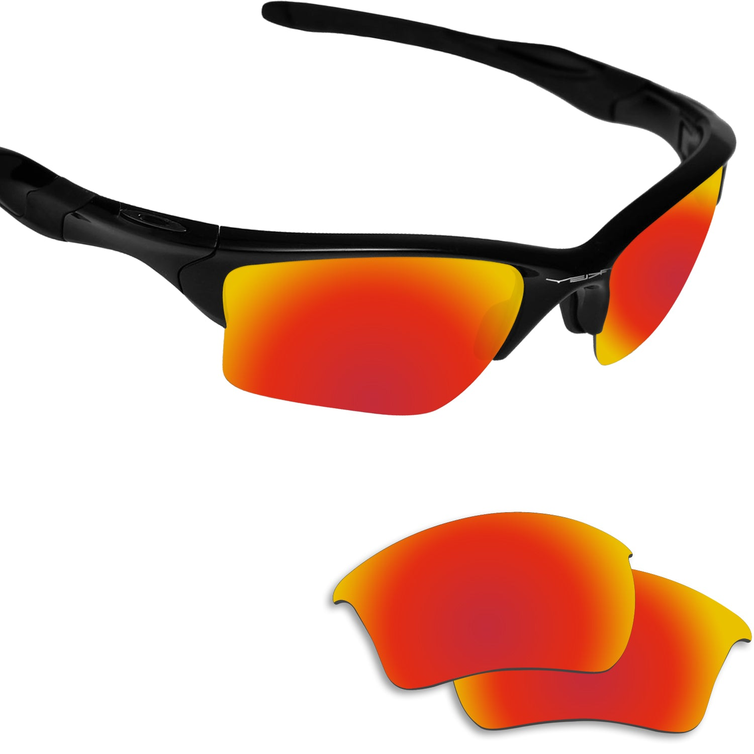 Half Jacket 2 0 >> Fiskr Polarized Replacement Lenses For Oakley Half Jacket 2 0 Xl Sunglasses