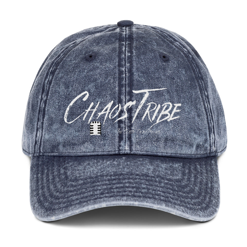Chaos tribe Dad hats Vintage Cotton Twill Cap - Weka Collections LLC