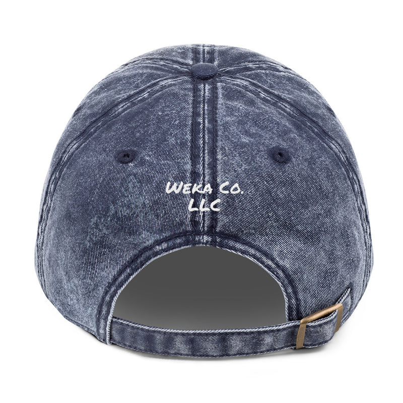 Worthy Vintage Cotton Twill Cap - Weka Collections LLC