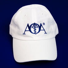 Load image into Gallery viewer, AOA Embroidered White Hat
