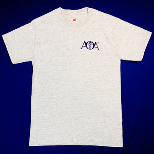 AOA short sleeve grey t-shirt