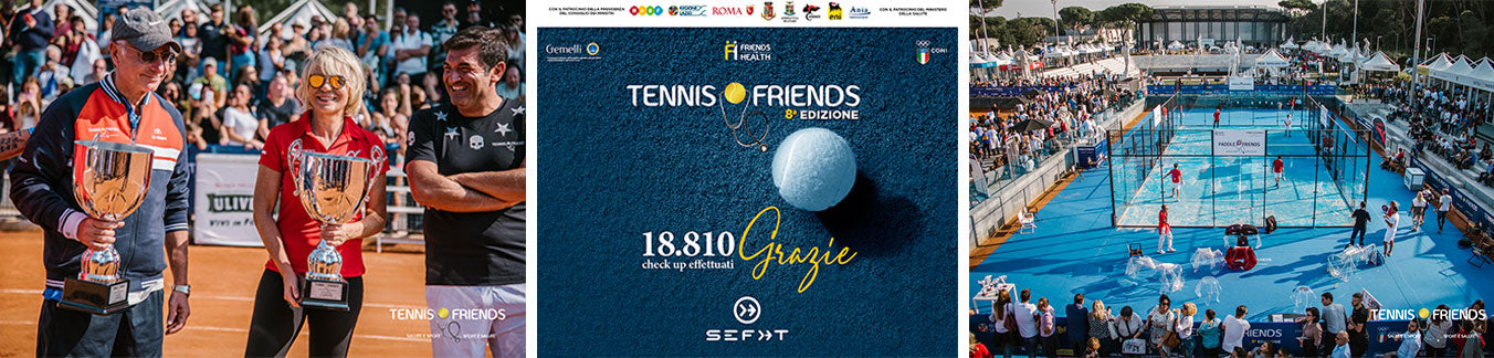 Grande successo di Tennis and Friends 2018