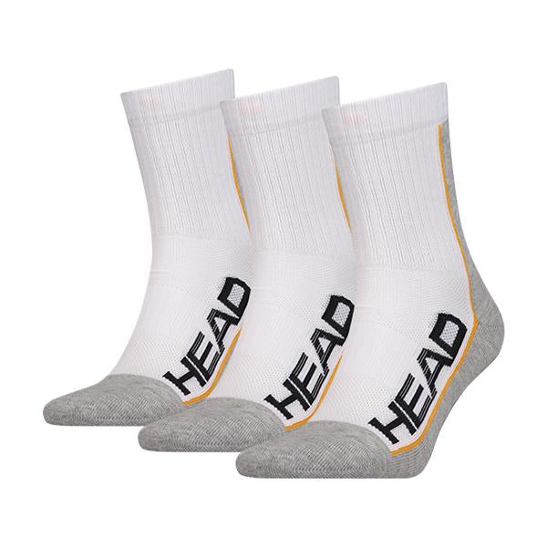 Head Performance Socks White 3P