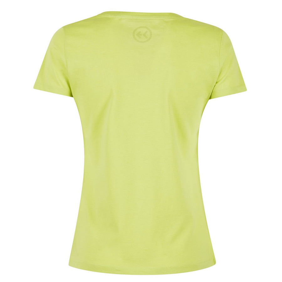 Sefht T-shirt Organic Donna Lime
