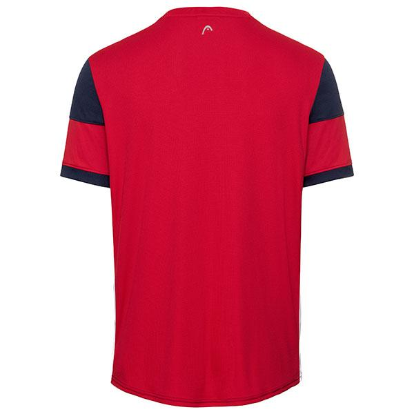 Head Volley T-shirt Dark Blue/Red