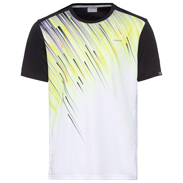Head Slider T-shirt Black/Yellow