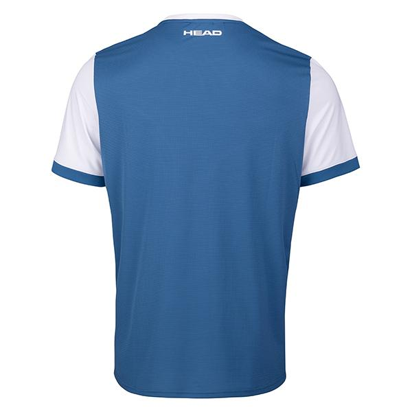 Head Davies T-Shirt Man Blue/White