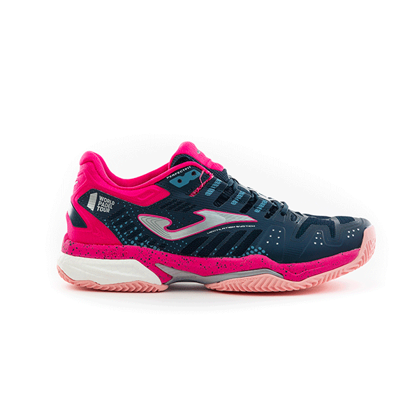 Joma T.Slam Lady 2003 Navy-Fuchsia Clay
