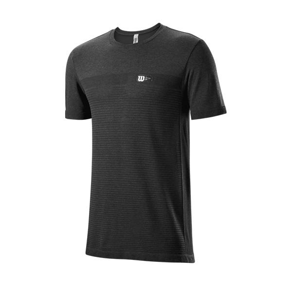 Wilson T-shirt Men's Bela Seamless Crew Black