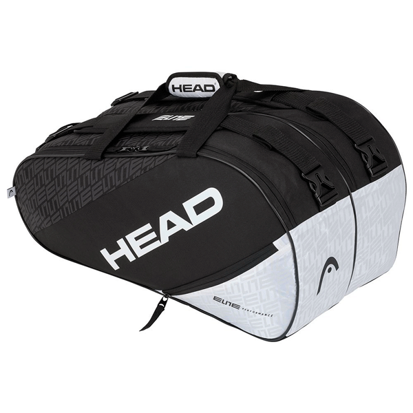 Borsa Head Elite Padel Supercombi Black/White