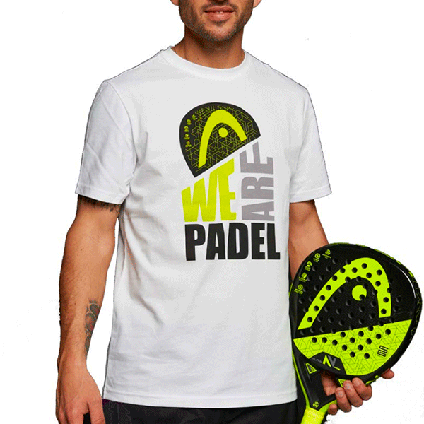 Head T-shirt We Are Padel