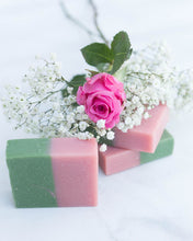 Load image into Gallery viewer, Ginger Rose Goat Milk Soap