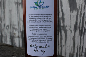 Oatmeal & Honey Goat Milk Lotion