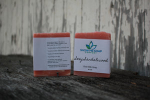 Sexy Sandalwood Goat Milk Soap