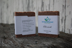 Almond Goat Milk Soap