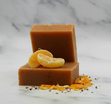 Load image into Gallery viewer, Orange Clove Goat Milk Soap